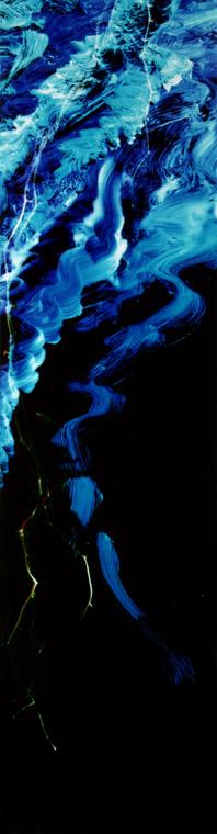 60 x 16 inches Medium: Light on photo paper Unique, © 2002